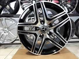 pelek racing untuk mobil mercy ring18x8H5X112  hsr  bisa buat terios