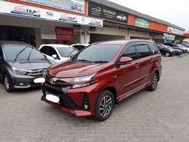 Toyota Avanza New Veloz 1.5cc A/T Merah 2019 Kilometer Low 1.500