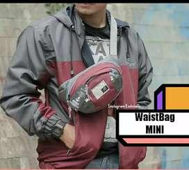 Paket tas outdoor jaket waistbag mini simple new