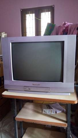 "Panasonic 21"" colour TV in fully working condition."