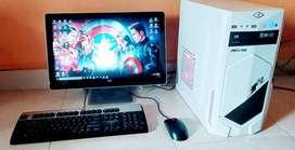 1 Set PC spec Gaming ( Dijual atau TT dengan Smartphone)