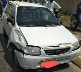 Accidental car for sell Alto 2006