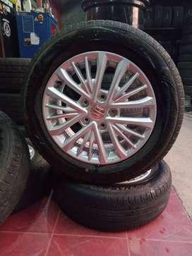 VELG R15 OEM SUZUKI ERTIGA   (Mazda5) BISA KREDIT