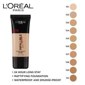 Foundation infallible 105 Natural Beige