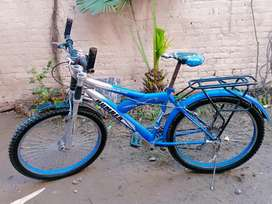 Genuine bicycle imported in 2018 blue color double gear