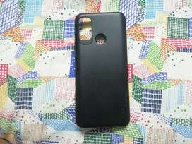 Infinix hot 9 play cover(black colour)