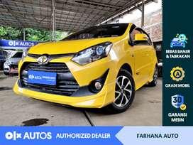 [OLXAutos] Toyota Agya 2017 1.2 G TRD Sportivo A/T #Farhana Auto