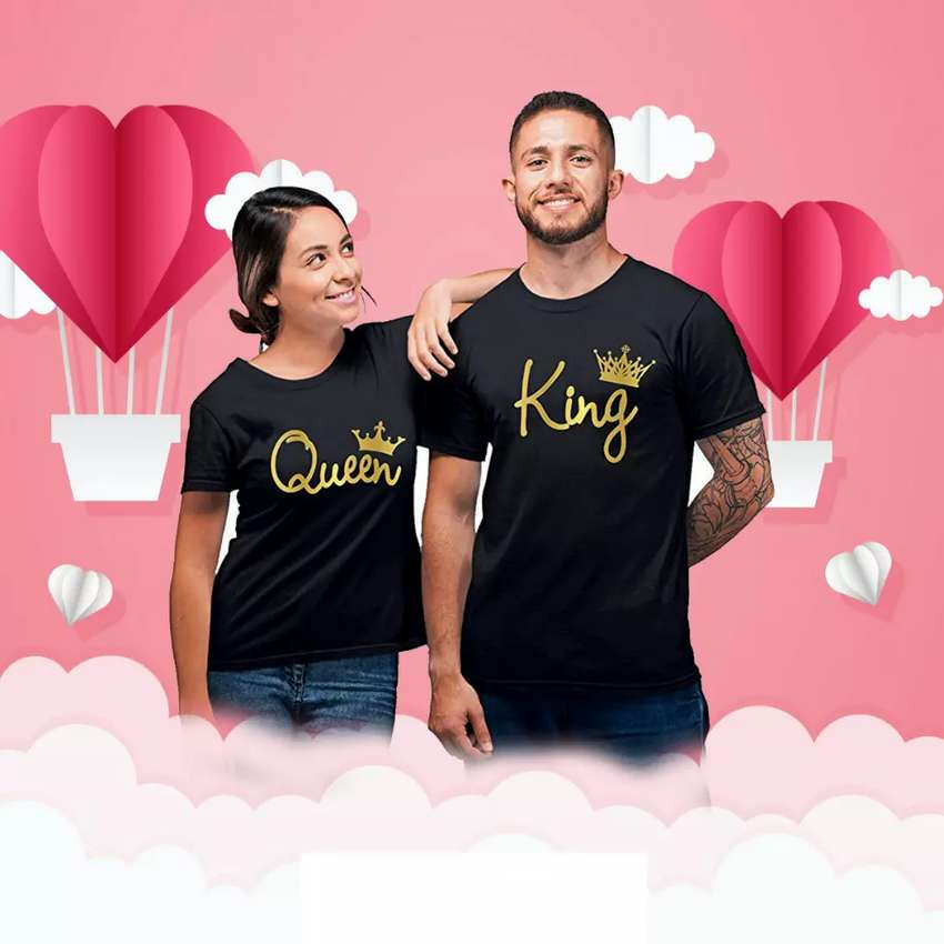 Couples Dress & T shirt Customized 0