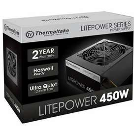Litepower series 450w power supply 1 year warranty