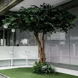 Produsen pohon plastik/ artificial, vertical garden attificial