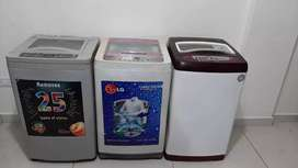 All types of washing machines available @ 6000 with Warranty