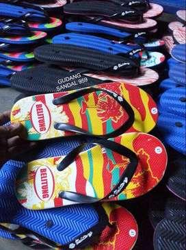 Sandal Distro I Sandal Sablon Desain Pribadi Dr buyer I Motif Request