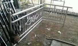 Jasa pemasangan pagar stainless rumah bertingkat atau taman
