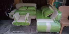 Kursi Sofa L Green