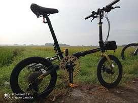 Sepeda lipat Pacific kodiak L