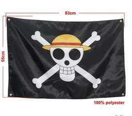 Bendera bajak laut baru one piece