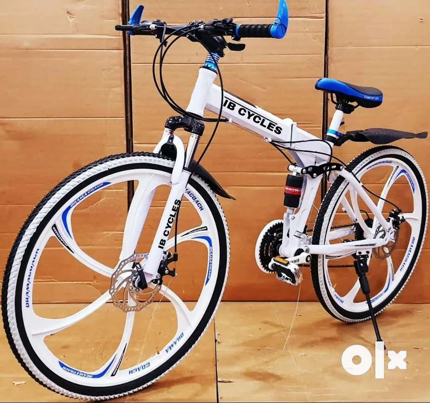 NEW  FOLDING CYCLE AVAILABLE NOW WITH 21 GEAR SPEED