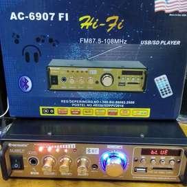 Power AMPLI Karaoke ACOUSTIC AC 6907 FI AC6907 Digital USB Bluetooth