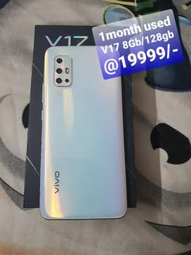 Vivo V17 1month used only 19999/--
