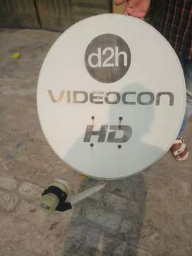 D2h videocon dish tv