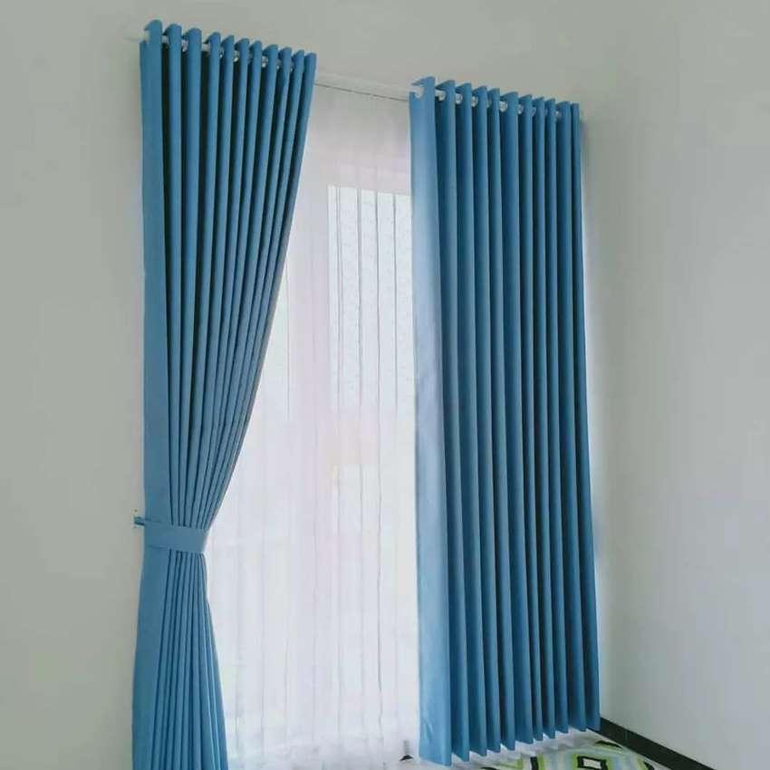 Gorden Gordyn Korden Hordeng Blinds Curtain Wallaper314mckckf