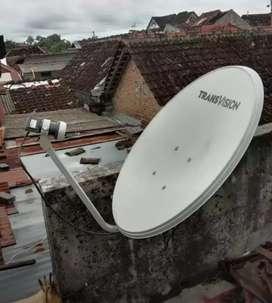 Pasang murah Transvision HD rsmi Bone spesial paket 6 bulan cma rp420k