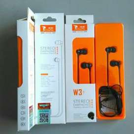 Earphone / Handsfree Resong W3+ by VIVAN Solo Micro