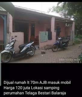 rumah kampung dekat telaga bestari