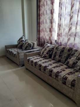 Semi furnished  flat for family. Hi rise society