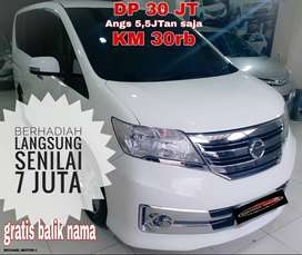 Nissan Serena DP 30Jtn Hws Autech Panoramic AT KM 30Rb 2014 Free BBN