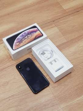 Iphone XS 256Gb gery color Box fullkit available