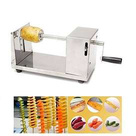 Spiral Potato Slicer Thanksgiving but, they can be roasted, baked frie