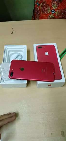 Apple I phone 7 plus 128gb room with Bill box warranty available