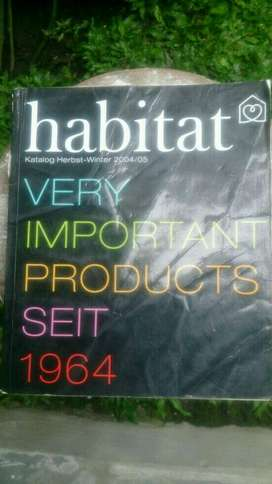 Katalog Furniture Habitat 40th Anniversary Edition