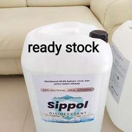 Desinfectant sippol 25 liter