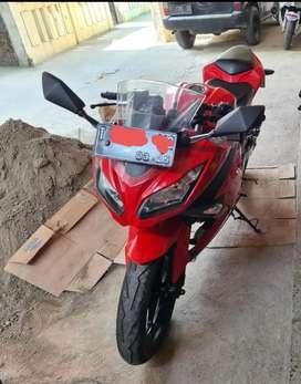 Ninja 250 fi merah mulus
