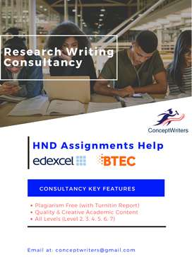 HND – EDEXEL – BTEC and International Assignments Preparation Help
