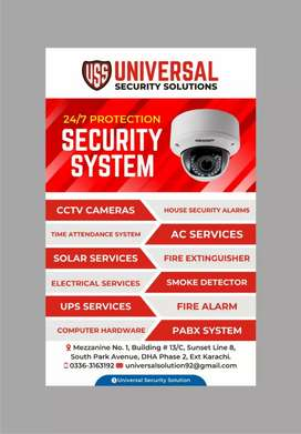 Cctv cameras system and maintainance