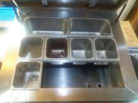 Stainless steel chiller / coolbar