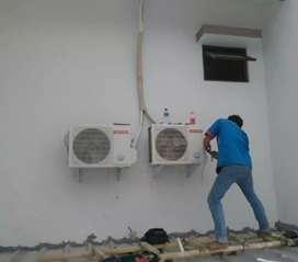Service AC, bongkar pasang AC, perbaikan AC,
