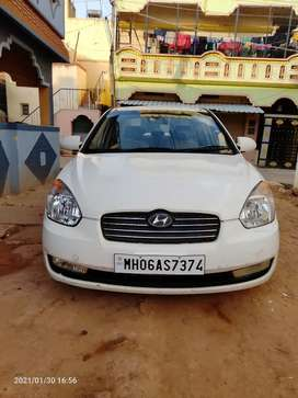 MH REGISTERED Hyundai Verna 2008 Diesel Well Maintained