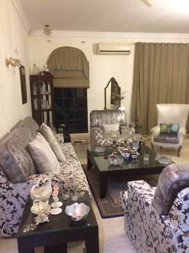 It is a fully furnished villa for rent