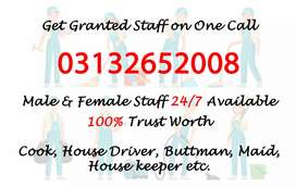 We provide verified all domestic staff