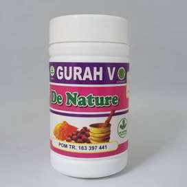 Gurah V De Nature Obat Keputihan Abnormal Gatal Jamur Bau Herbal BPOM