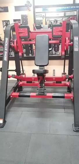 Being Strong Pullover Machine
