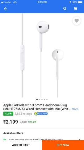 I sell my iphone x orignal earphone not more use