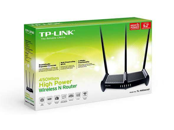 TP Link 941HP router (New box pack) 10000 sq foot high range 450 Mbps 0