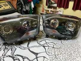 Mahindra Scorpio S7 Headlight. New car ka hei.