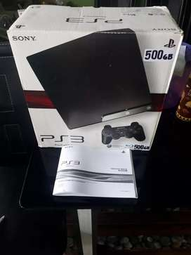 Ps3 slim 500 gb komplit