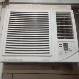 0.75 ton Super general window AC for sale only 3 months used..